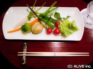 エクシブ山中湖の天ぷら料理01