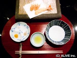 エクシブ山中湖の天ぷら料理02