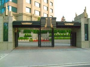 東京ベイコート倶楽部のゲート