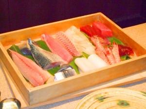 お寿司料理