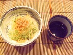 錦野菜の蕎麦仕立て