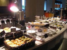 朝食もイタリアンブッフェ