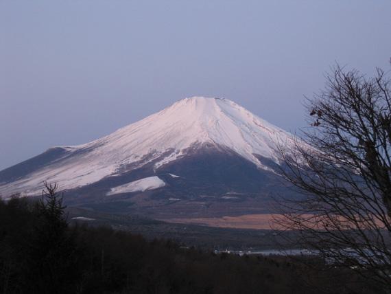 富士山の朝焼け1