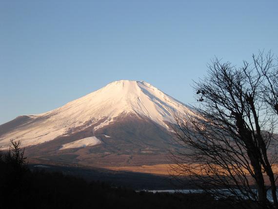 富士山の朝焼け3