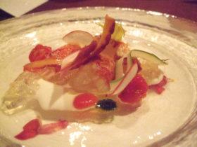 イタリア料理レストラン『OZIO』夕食1