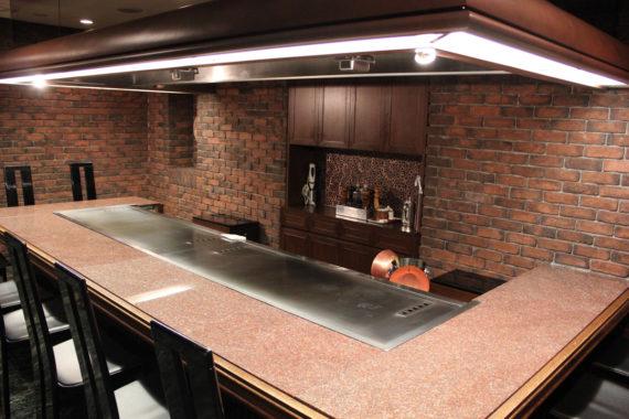 鉄板焼きの完全個室