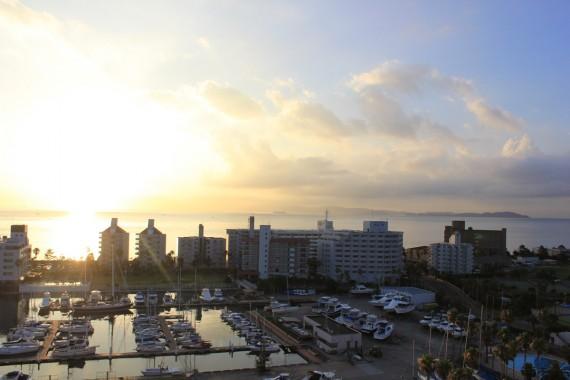 エクシブ淡路島からの朝日