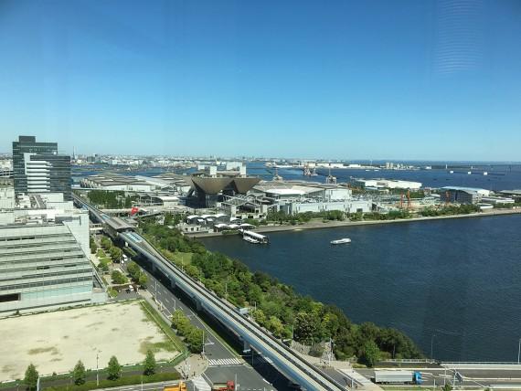 東京ベイコート倶楽部からの眺め