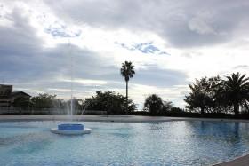 エクシブ伊豆の屋外プール