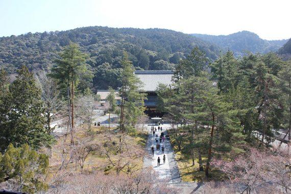 南禅寺の三門から撮影