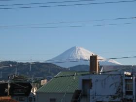 冬-小さい富士山
