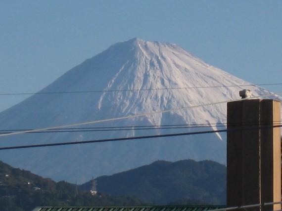 冬-富士山